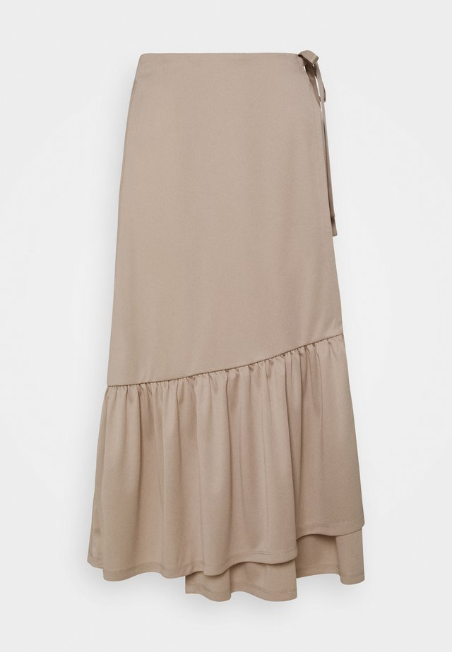 Pencil skirt - off white