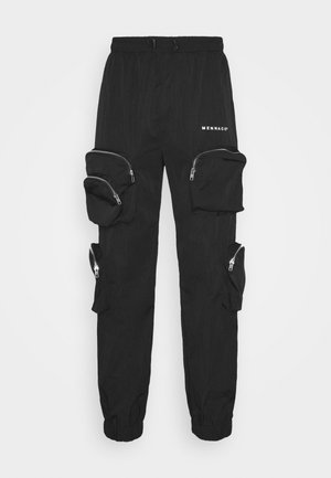 SHADOW TRACKSUIT TROUSER - Pantalon de survêtement - black