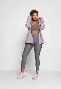 Under Armour - HI RISE LEGGINGS - Collant - charcoal light heather - 1