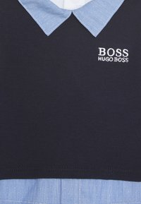 BOSS Kidswear - ALL IN ONE BABY - Jumpsuit - navypale blue - 2
