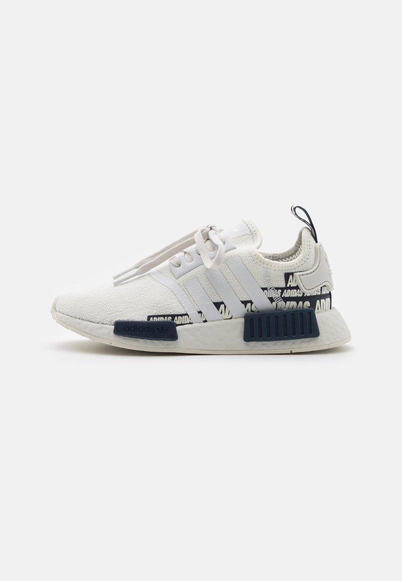adidas Originals - NMD_R1 UNISEX - Sneakers basse - crystal white/collegiate navy