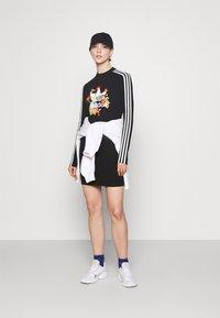 adidas Originals - DRESS - Shift dress - black - 1