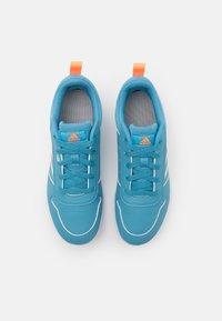 adidas Performance - TENSAUR UNISEX - Sportschoenen - hazy blue/footwear white/screaming orange - 3