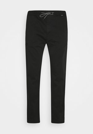 CARGO PANT - Trousers - black