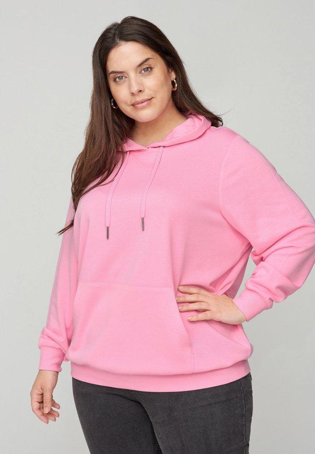 Bluza z kapturem - pink