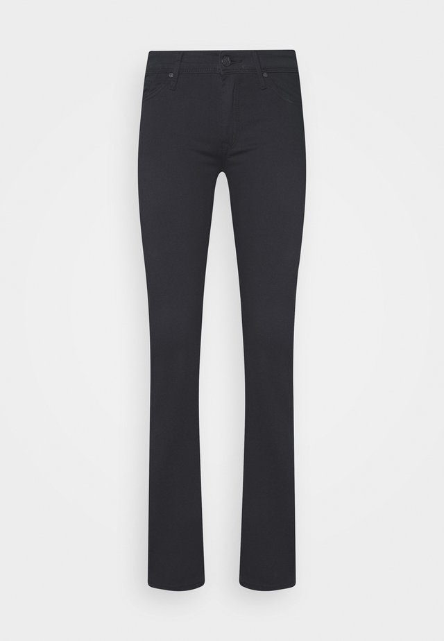 OLIVIA - Straight leg jeans - double black