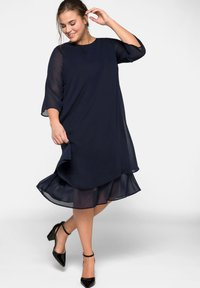 Sheego - Cocktail dress / Party dress - dark blue - 1