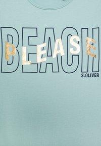 s.Oliver - T-shirt print - light blue - 2