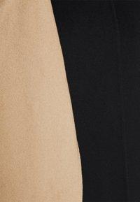 Theory - SCARF COAT LUXE NEW - Classic coat - black/palomino - 9