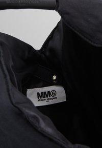 MM6 Maison Margiela - Velká kabelka - black - 4