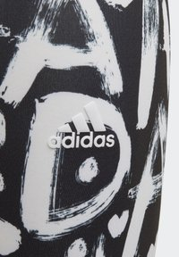 adidas Performance - EQUIP AEROREADY PRINTED LEGGINGS - Medias - black - 3