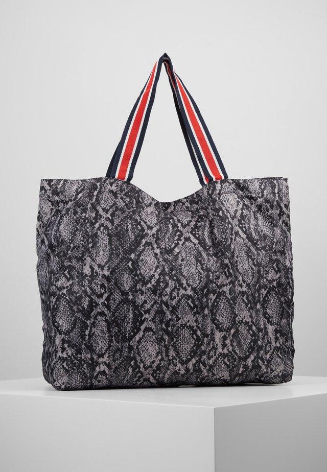 SNAKEY FOLDABLE BAG - Shopping bag - grey