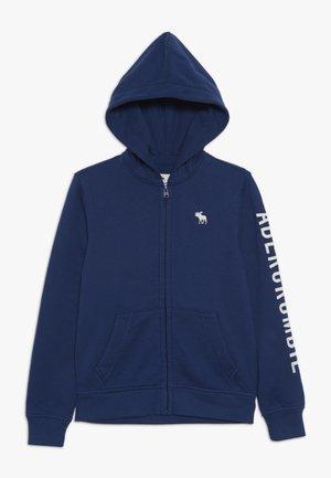 CORE - Mikina na zip - blue
