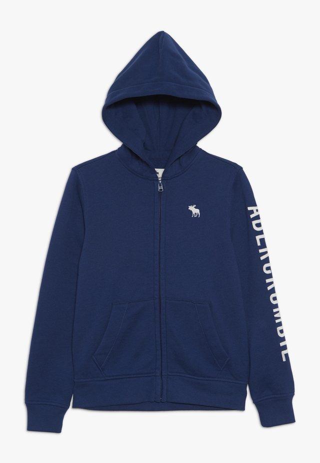 CORE - veste en sweat zippée - blue