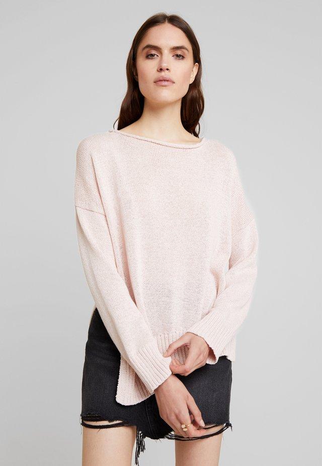 NADINE JUMPER - Strikpullover /Striktrøjer - plaster pink