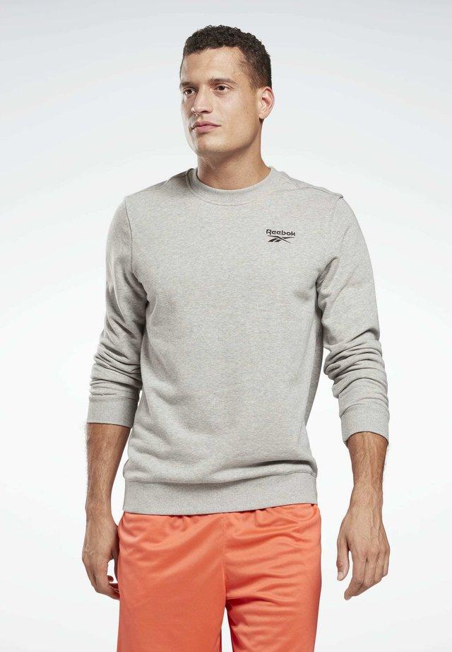 SMALL LOGO ELEMENTS SWEATSHIRT - Sweater - grey