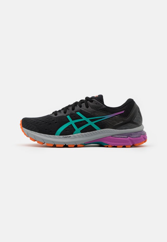 GT-2000 9 TRAIL - Stabilty running shoes - black/baltic jewel