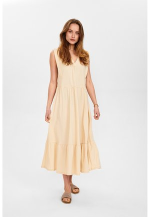 Jersey dress - brazillian sand