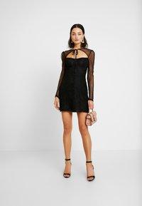 Fashion Union - CECILLE - Koktejlové šaty/ šaty na párty - black - 1