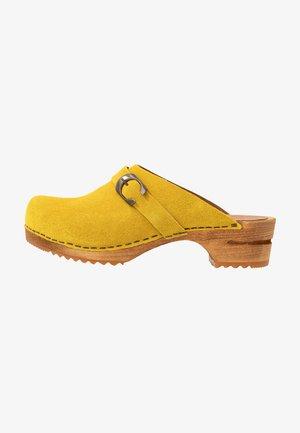 HEDI OPEN - Clogs - yellow