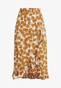 Moss Copenhagen - REIGN MOROCCO SKIRT - Maxi skirt - ecru - 3
