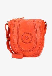 Campomaggi - Across body bag - orange - 0