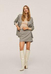 Mango - A-line skirt - marron - 1