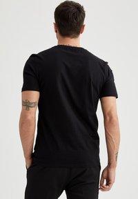 DeFacto - T-shirt - bas - black - 2