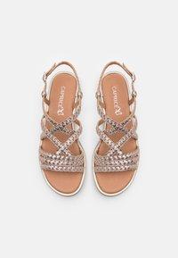 Caprice - Sandals - taupe metallic - 5