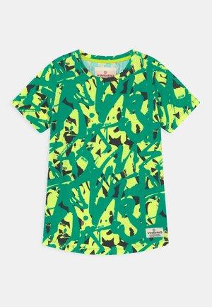 HINI - Print T-shirt - fresh neon yellow
