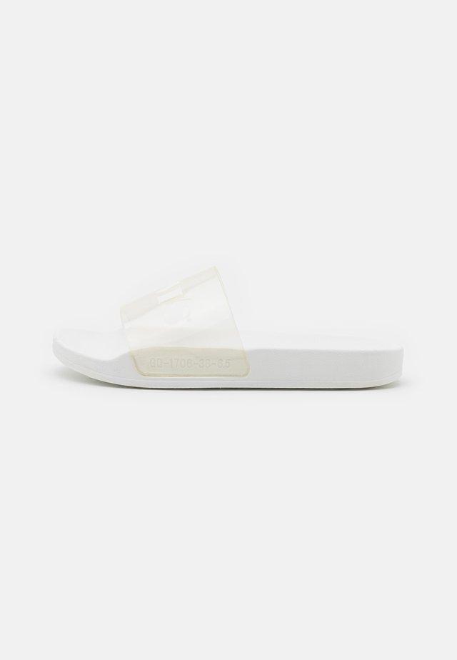 JUNE MONO  - Mules - regular white