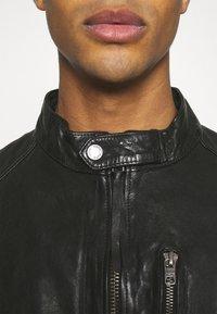 Tigha - HUTCH - Leather jacket - black - 4