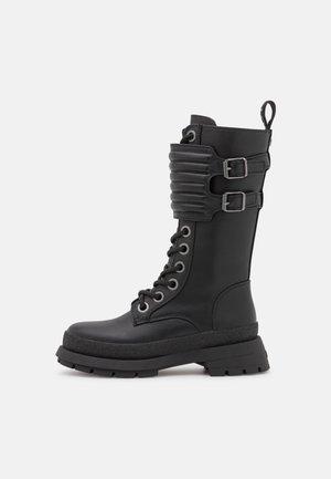 VEGAN SLOANE - Lace-up boots - black