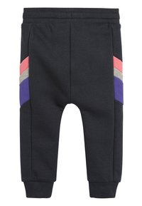 Next - MULTI COLOURBLOCK HOODY/JOGGERS SET (3MTHS-7YRS) - Zip-up hoodie - purple - 4
