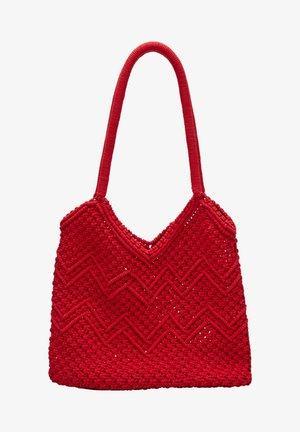 Shopper - red