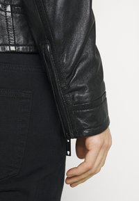 Strellson - PARKS - Leather jacket - black - 3