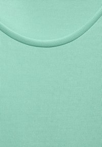 Street One - IM SEIDEN LOOK - Basic T-shirt - grün - 4
