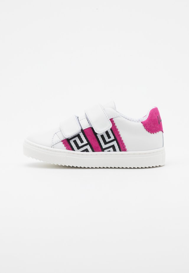 UNISEX - Sneakers basse - white/ibiscus/gold