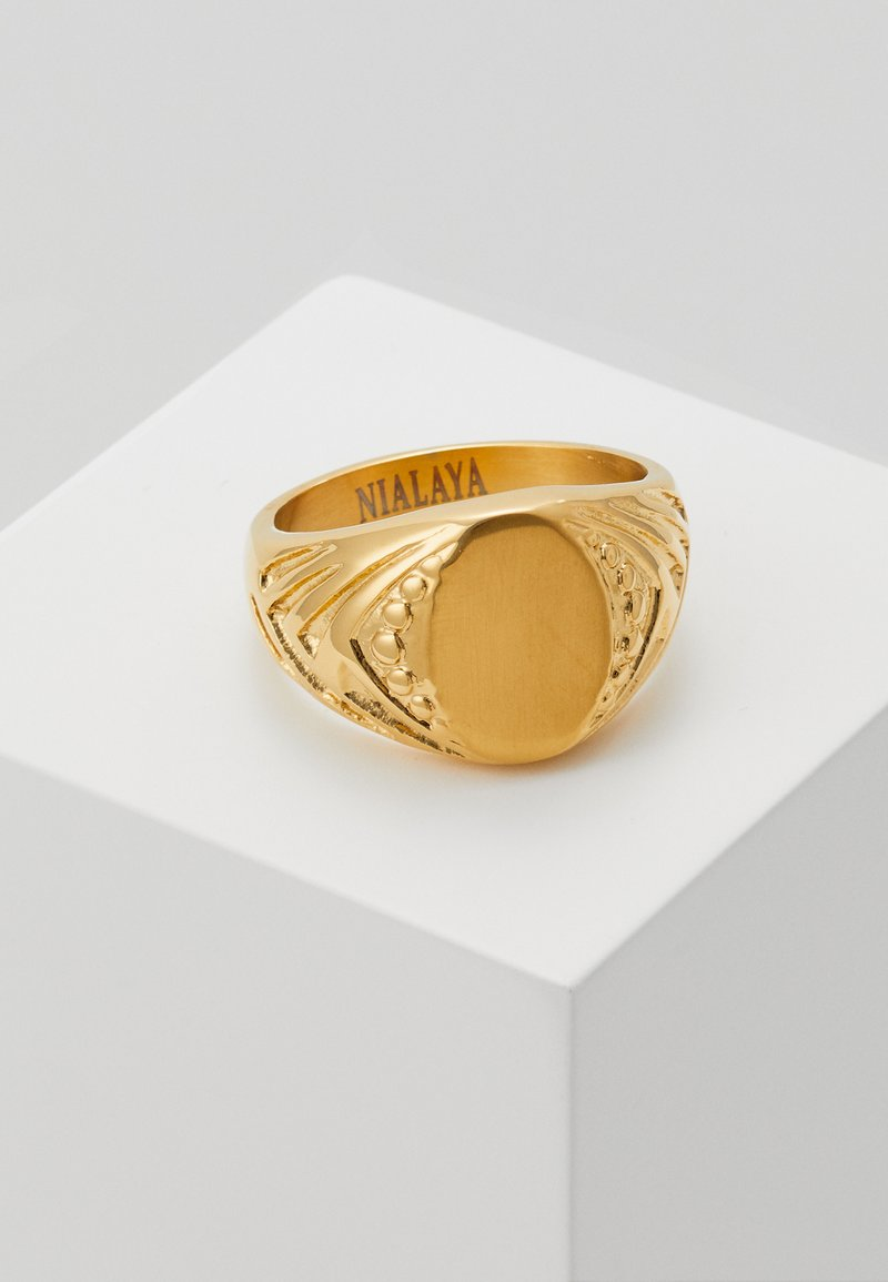 Nialaya - Ring - gold-coloured