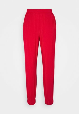 PERFECTLY FIT FLEX JOGGER - Pyjamahousut/-shortsit - red gala