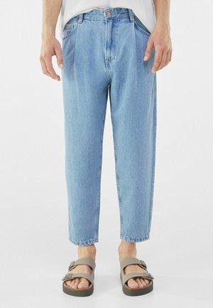TAPERED - Straight leg -farkut - blue denim