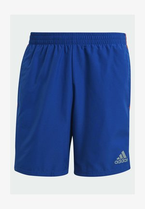 OWN THE RUN 3-STRIPES - Pantalón corto de deporte - blue