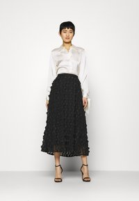 Love Copenhagen - FLORA SKIRT - A-line skjørt - pitch black - 1