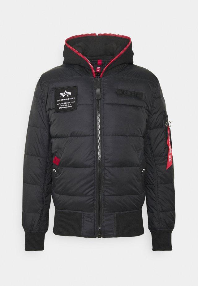 Vinterjakke - schwarz