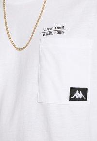 Kappa - HOLGA - Maglietta a manica lunga - bright white - 5