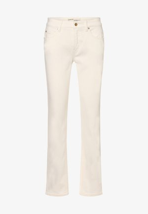 Bootcut jeans - ecru