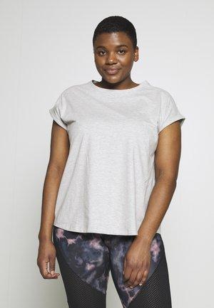 Camiseta básica - mottled grey