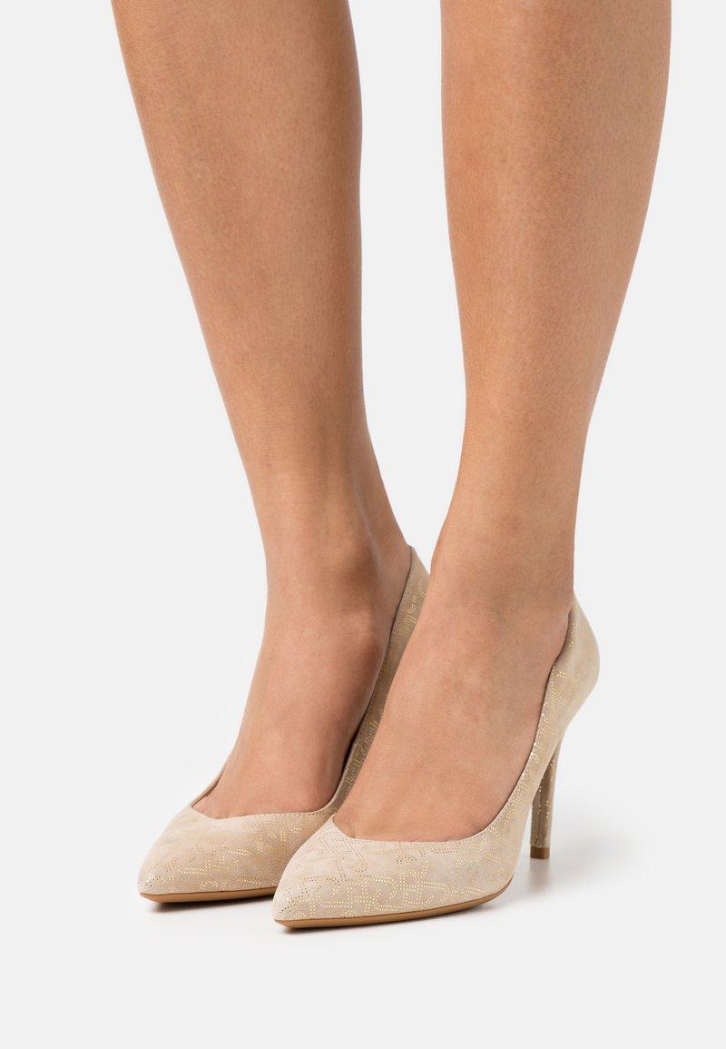 LIU JO - VICKIE  - Classic heels - camel
