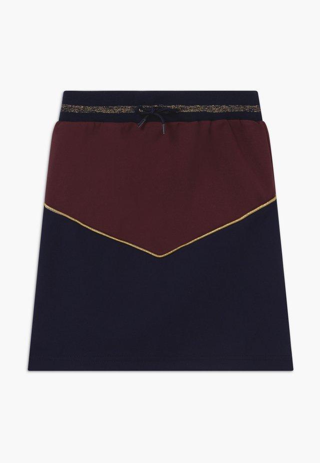 ROSA - Jupe trapèze - navy blazer