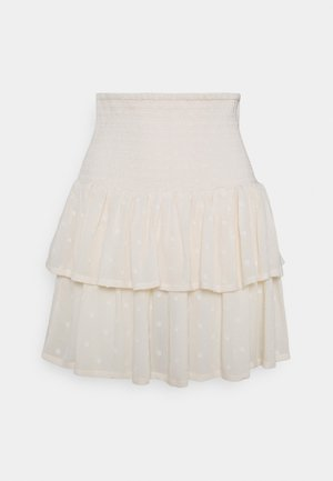 FELICE SMOCK SKIRT  - Mini skirt - birch